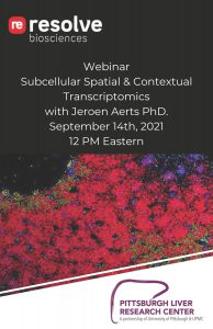 PLRC Virtual Seminar Series: Resolve Biosciences Presentation @ Zoom
